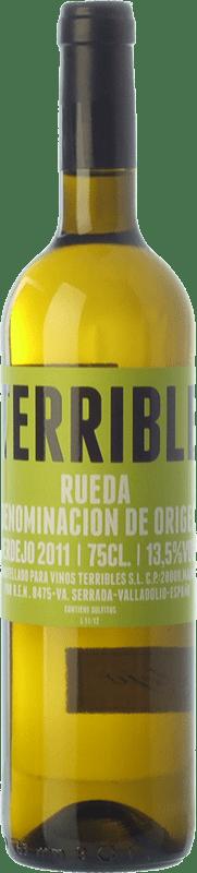 9,95 € 免费送货 | 白酒 Terrible D.O. Rueda 卡斯蒂利亚莱昂 西班牙 Verdejo 瓶子 75 cl
