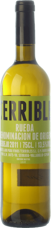 9,95 € Envío gratis   Vino blanco Terrible D.O. Rueda Castilla y León España Verdejo Botella 75 cl
