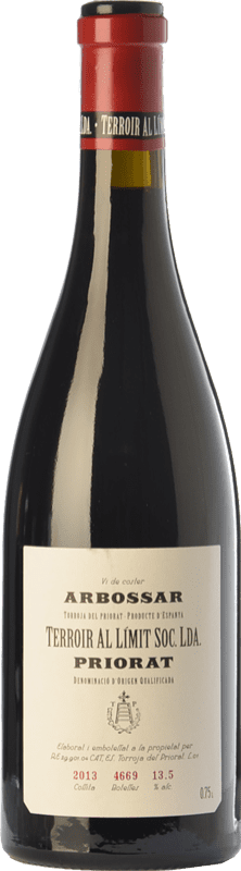 73,95 € | Red wine Terroir al Límit Arbossar Reserva D.O.Ca. Priorat Catalonia Spain Carignan Bottle 75 cl