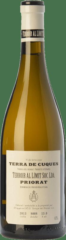 37,95 € Envío gratis | Vino blanco Terroir al Límit Terra de Cuques Crianza D.O.Ca. Priorat Cataluña España Moscatel de Alejandría, Pedro Ximénez Botella 75 cl