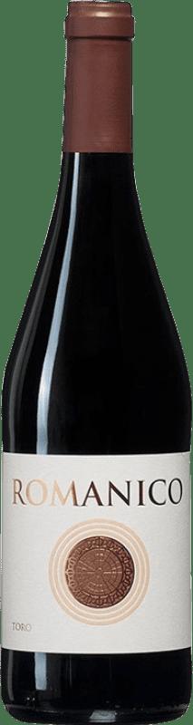 9,95 € | 红酒 Teso La Monja Románico Joven D.O. Toro 卡斯蒂利亚莱昂 西班牙 Tinta de Toro 瓶子 75 cl