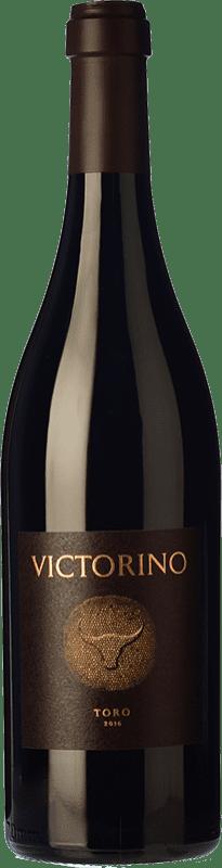 36,95 € | Red wine Teso La Monja Victorino Crianza D.O. Toro Castilla y León Spain Tinta de Toro Bottle 75 cl