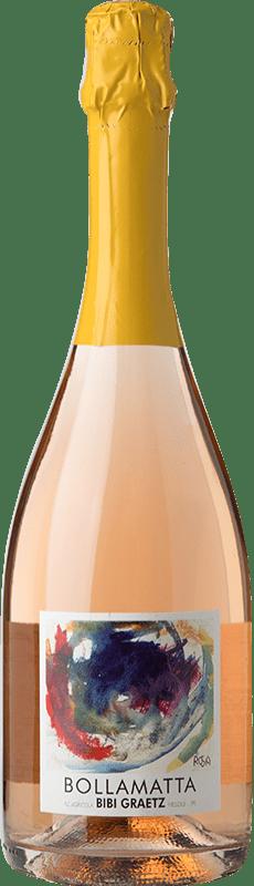 13,95 € Free Shipping | White sparkling Bibi Graetz Bolla Matta Italy Sangiovese Bottle 75 cl