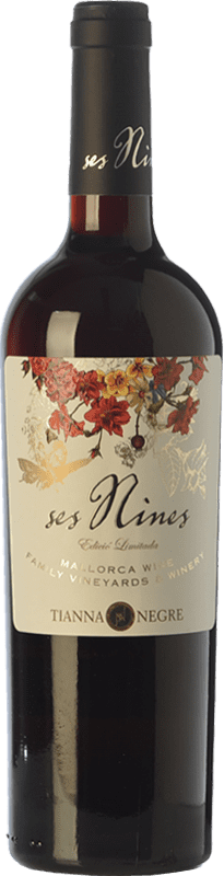 11,95 € | Red wine Tianna Negre Ses Nines Edició Limitada Joven D.O. Binissalem Balearic Islands Spain Merlot, Syrah, Cabernet Sauvignon, Callet, Mantonegro Bottle 75 cl