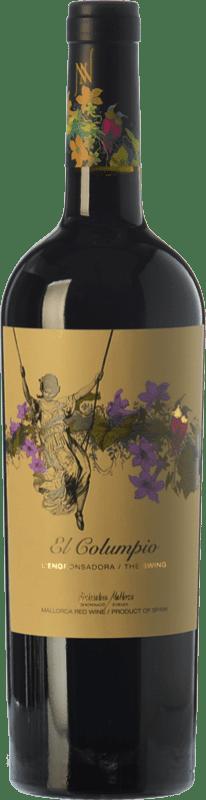 12,95 € Free Shipping | Red wine Tianna Negre Ses Nines El Columpio Joven D.O. Binissalem Balearic Islands Spain Merlot, Syrah, Cabernet Sauvignon, Callet, Mantonegro Bottle 75 cl