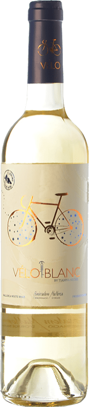 16,95 € Envoi gratuit | Vin blanc Tianna Negre Ses Nines Vélo Blanc Ecològic D.O. Binissalem Îles Baléares Espagne Mantonegro, Premsal Bouteille 75 cl