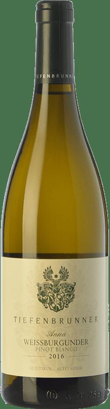 16,95 € | White wine Tiefenbrunner Pinot Bianco Anna Turmhof D.O.C. Alto Adige Trentino-Alto Adige Italy Pinot White Bottle 75 cl