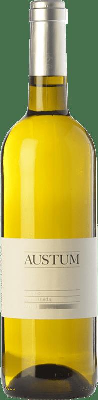 10,95 € Free Shipping | White wine Tionio Austum D.O. Rueda Castilla y León Spain Verdejo Bottle 75 cl