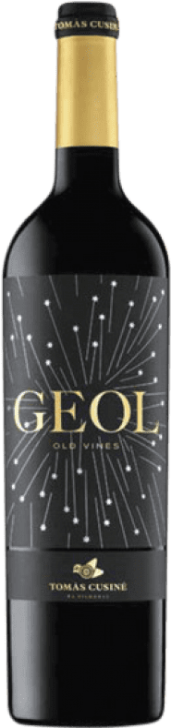 19,95 € 免费送货 | 红酒 Tomàs Cusiné Geol Joven D.O. Costers del Segre 加泰罗尼亚 西班牙 Merlot, Cabernet Sauvignon, Carignan 瓶子 75 cl