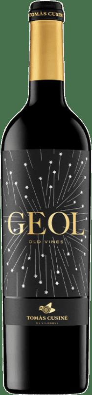 19,95 € Envío gratis | Vino tinto Tomàs Cusiné Geol Joven D.O. Costers del Segre Cataluña España Merlot, Cabernet Sauvignon, Cariñena Botella 75 cl