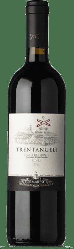 16,95 € Envoi gratuit | Vin rouge Tormaresca Rosso Trentangeli D.O.C. Castel del Monte Pouilles Italie Syrah, Cabernet Sauvignon, Aglianico Bouteille 75 cl