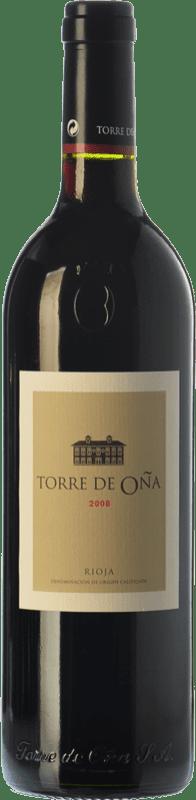 15,95 € Envío gratis | Vino tinto Torre de Oña Reserva D.O.Ca. Rioja La Rioja España Tempranillo, Mazuelo Botella 75 cl