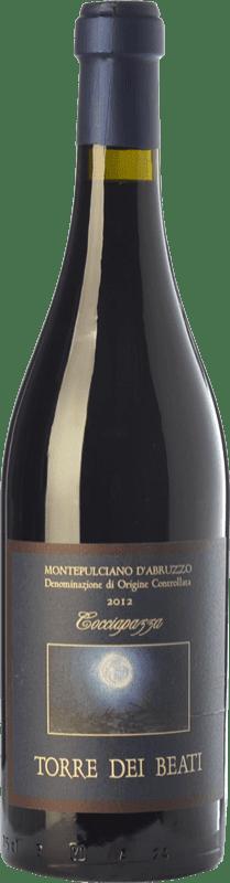29,95 € Free Shipping | Red wine Torre dei Beati Cocciapazza D.O.C. Montepulciano d'Abruzzo Abruzzo Italy Montepulciano Bottle 75 cl