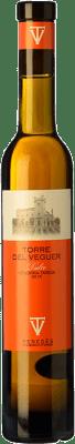 22,95 € Free Shipping | Sweet wine Torre del Veguer Vendimia Tardía D.O. Penedès Catalonia Spain Muscatel Small Grain Half Bottle 37 cl