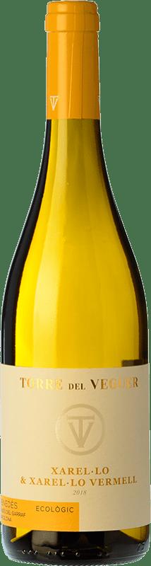 12,95 € Free Shipping | White wine Torre del Veguer X & XV D.O. Penedès Catalonia Spain Xarel·lo, Xarel·lo Vermell Bottle 75 cl