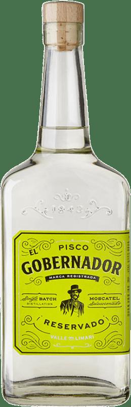 29,95 € 免费送货 | Pisco Torres El Gobernador 智利 瓶子 70 cl