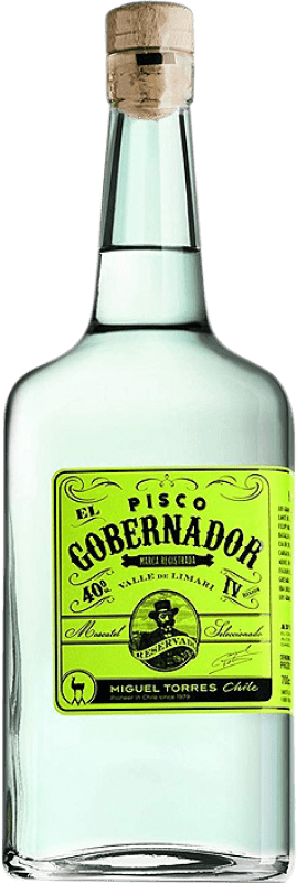 29,95 € Free Shipping | Pisco Torres El Gobernador Chile Bottle 70 cl