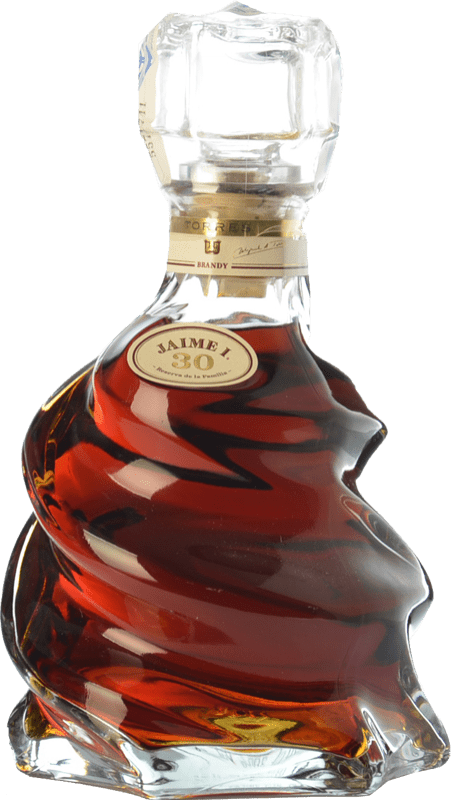 89,95 € Free Shipping | Brandy Torres Jaime I D.O. Catalunya Catalonia Spain Bottle 70 cl