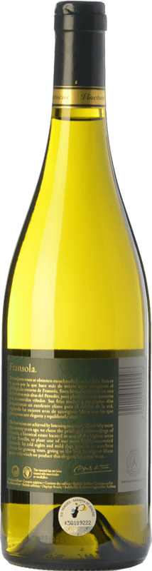 23,95 € Free Shipping   White wine Torres Fransola Crianza D.O. Penedès Catalonia Spain Sauvignon White, Parellada Bottle 75 cl