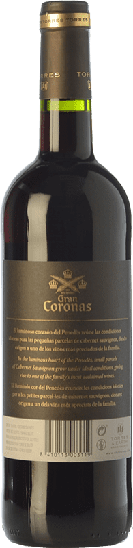 14,95 € Free Shipping   Red wine Torres Gran Coronas Reserva D.O. Penedès Catalonia Spain Tempranillo, Cabernet Sauvignon Bottle 75 cl