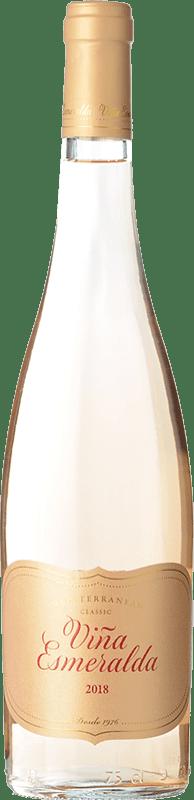 9,95 € 免费送货 | 玫瑰酒 Torres Viña Esmeralda D.O. Catalunya 加泰罗尼亚 西班牙 Grenache 瓶子 75 cl