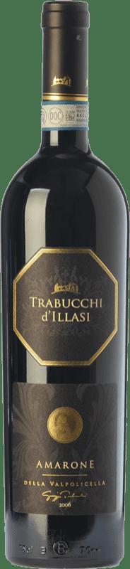 49,95 € Free Shipping | Red wine Trabucchi 2009 D.O.C.G. Amarone della Valpolicella Veneto Italy Corvina, Rondinella, Corvinone, Oseleta, Croatina Bottle 75 cl