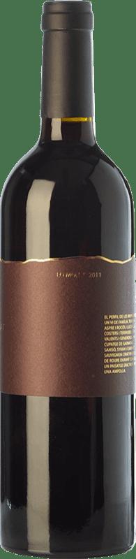 27,95 € Envío gratis | Vino tinto Trossos del Priorat Lo Mon Crianza D.O.Ca. Priorat Cataluña España Syrah, Garnacha, Cabernet Sauvignon, Cariñena Botella 75 cl