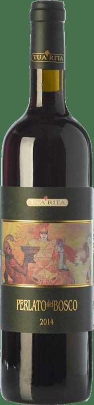 26,95 € 免费送货 | 红酒 Tua Rita Perlato del Bosco I.G.T. Toscana 托斯卡纳 意大利 Sangiovese 瓶子 75 cl