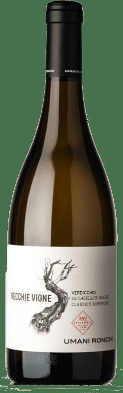 17,95 € Free Shipping | White wine Umani Ronchi Casaldiserra Vecchie Vigne D.O.C. Verdicchio dei Castelli di Jesi Marche Italy Verdicchio Bottle 75 cl