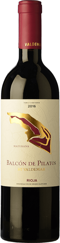 25,95 € Free Shipping | Red wine Valdemar Inspiración Maturana Crianza D.O.Ca. Rioja The Rioja Spain Maturana Tinta Bottle 75 cl