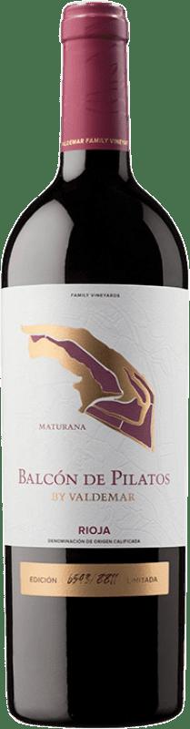 25,95 € 免费送货   红酒 Valdemar Inspiración Maturana Crianza D.O.Ca. Rioja 拉里奥哈 西班牙 Maturana Tinta 瓶子 75 cl