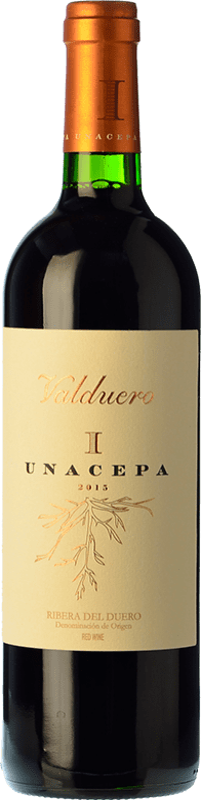 36,95 € Free Shipping | Red wine Valduero Una Cepa Reserva D.O. Ribera del Duero Castilla y León Spain Tempranillo Bottle 75 cl