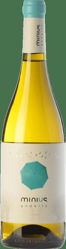 12,95 € | White wine Valmiñor Minius D.O. Monterrei Galicia Spain Godello Bottle 75 cl