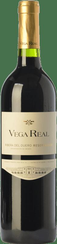 14,95 € 免费送货 | 红酒 Vega Real Reserva D.O. Ribera del Duero 卡斯蒂利亚莱昂 西班牙 Tempranillo, Cabernet Sauvignon 瓶子 75 cl