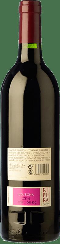 138,95 € Free Shipping | Red wine Vega Sicilia Valbuena 5º año Reserva D.O. Ribera del Duero Castilla y León Spain Tempranillo, Merlot Bottle 75 cl
