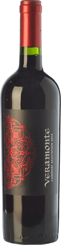 9,95 € Free Shipping | Red wine Veramonte Joven I.G. Valle de Colchagua Colchagua Valley Chile Cabernet Sauvignon Bottle 75 cl
