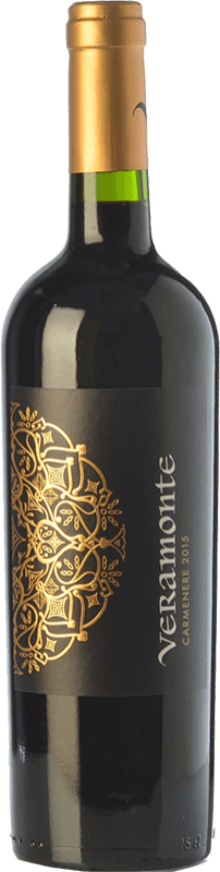 9,95 € Free Shipping | Red wine Veramonte Joven I.G. Valle de Colchagua Colchagua Valley Chile Carmenère Bottle 75 cl