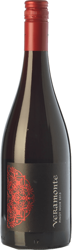 9,95 € | Red wine Veramonte Crianza I.G. Valle Central Central Valley Chile Pinot Black Bottle 75 cl