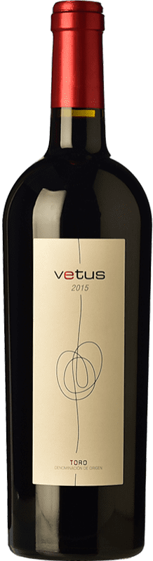 Red wine Vetus Crianza 2014 D.O. Toro Castilla y León Spain Tinta de Toro Bottle 75 cl