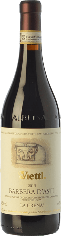 39,95 € | Red wine Vietti La Crena D.O.C. Barbera d'Asti Piemonte Italy Barbera Bottle 75 cl