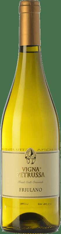 14,95 € Free Shipping | White wine Vigna Petrussa Friulano D.O.C. Colli Orientali del Friuli Friuli-Venezia Giulia Italy Tocai Friulano Bottle 75 cl