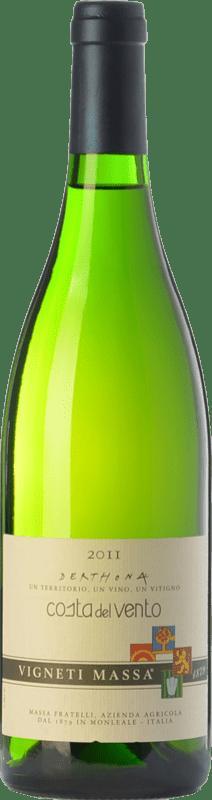 49,95 € Free Shipping | White wine Vigneti Massa Costa del Vento D.O.C. Colli Tortonesi Piemonte Italy Bacca White Bottle 75 cl