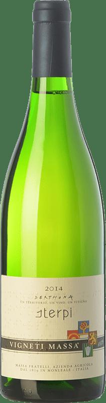 49,95 € Free Shipping | White wine Vigneti Massa Sterpi D.O.C. Colli Tortonesi Piemonte Italy Bacca White Bottle 75 cl