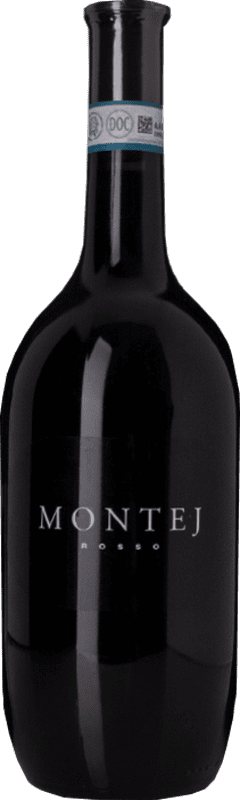 8,95 € | Red wine Villa Sparina Montej Rosso D.O.C. Monferrato Piemonte Italy Barbera Bottle 75 cl