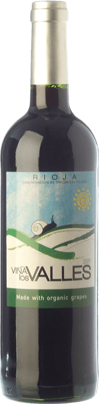 7,95 € Free Shipping | Red wine Vinícola Real Viña los Valles Joven D.O.Ca. Rioja The Rioja Spain Tempranillo, Grenache Bottle 75 cl