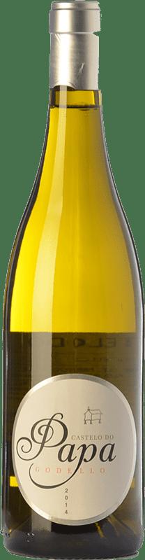 17,95 € Envoi gratuit | Vin blanc Vinos del Atlántico Castelo do Papa D.O. Valdeorras Galice Espagne Godello Bouteille 75 cl
