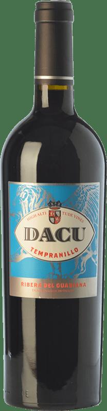 9,95 € | Red wine Vinos del Atlántico Dacu Joven D.O. Ribera del Guadiana Estremadura Spain Tempranillo Bottle 75 cl