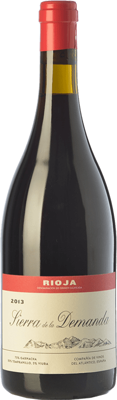 29,95 € Envoi gratuit | Vin rouge Vinos del Atlántico Sierra de la Demanda Crianza D.O.Ca. Rioja La Rioja Espagne Tempranillo, Grenache, Viura Bouteille 75 cl