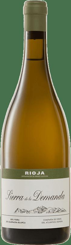 29,95 € | White wine Vinos del Atlántico Sierra de la Demanda Crianza D.O.Ca. Rioja The Rioja Spain Viura, Grenache White Bottle 75 cl