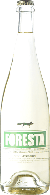 9,95 € Free Shipping | White sparkling Vins de Foresta Macabeu Ancestral Spain Macabeo Bottle 75 cl